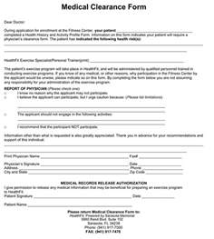 clearance for surgery template doc 696900 clearance form clearance