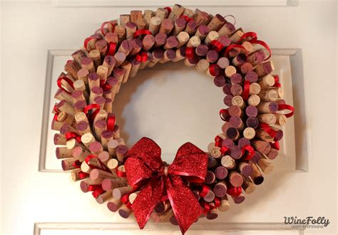 how to make a wreath out of wine corks wine folly