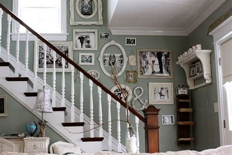 Staircase Wall Decorating Ideas Stair Wall Decorating Ideas Popular Home Decorating Colors 2014