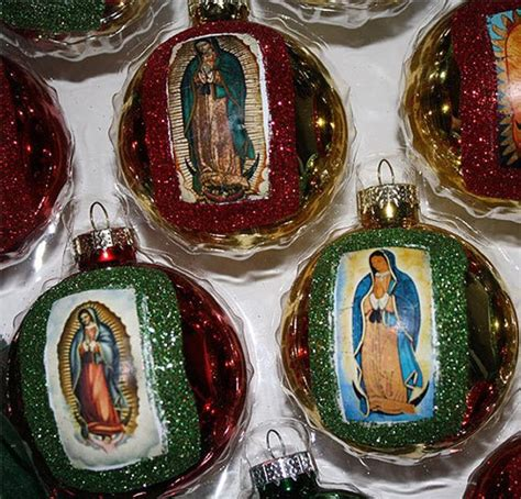 decorate for christmas in mexico virgen de guadalupe mexican ornaments decorations