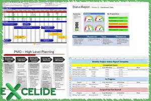 Project Management Template by Excelide Microsoft Excel Project Management Templates