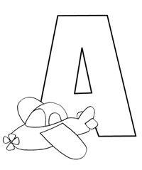 lettere alfabeto da colorare scuola infanzia abbecedario da colorare cose per crescere