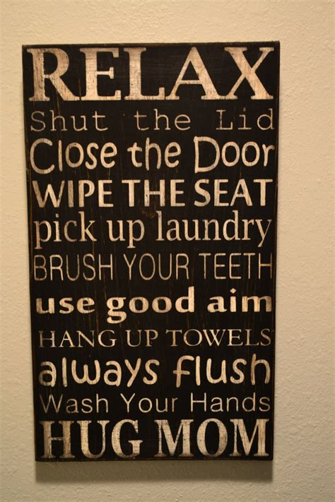 sayings for bathroom signs 23 best images about bathroom signs on pinterest