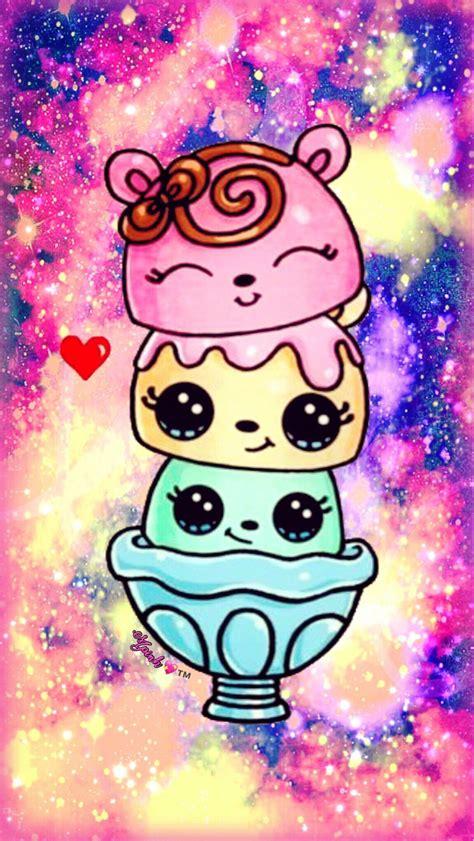 girly wallpaper for galaxy s3 cute kawaii icecream galaxy wallpaper androidwallpaper