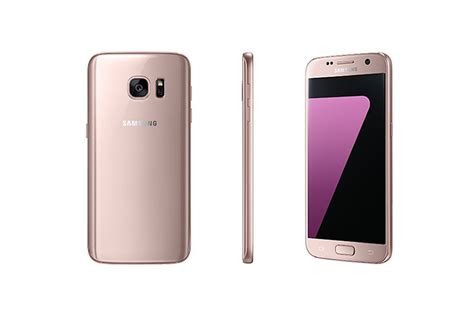 Samsung Galaxy S7 Edge Pink samsung announces pink gold version of galaxy s7 and s7