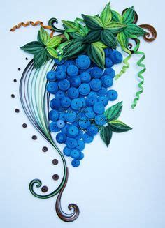 How To Make Paper Grapes - quilling green grapes quilling quilling