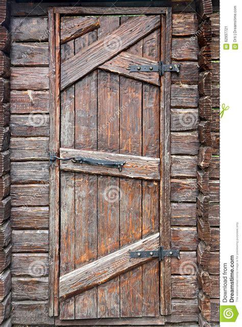porta di legno porta di legno antica stilizzata immagine stock immagine