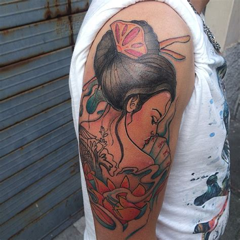 100 japanese geisha tattoos and meanings 2017 collection