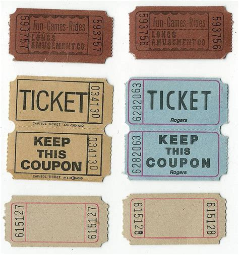 free printable vintage ticket template 46 best images about printable tickets on pinterest