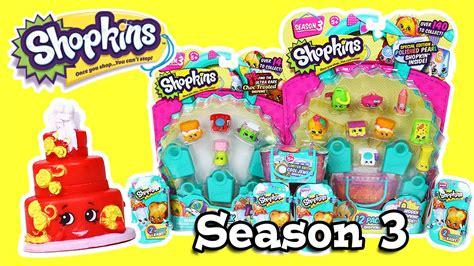 Shopkins Season 7 12packs O shopkins season 3 baskets 12 pack 5 packs