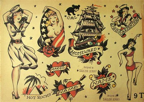 sailor jerry pin up tattoos collection of 25 sailor pin up with on arm