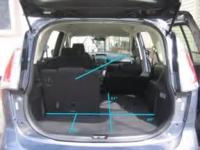 mazda5 interior cargo flexibility photos page 5