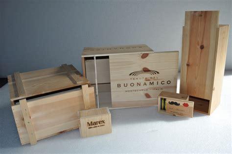 cassette vino legno produzione cassette vino