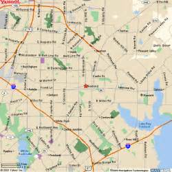 maps garland garland map
