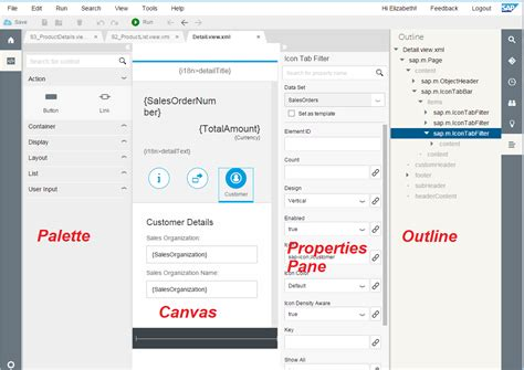 layout editing less coding more designing the new sap web ide layout
