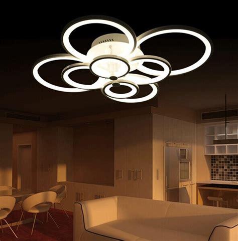 Moderne Wohnzimmerlen Led by New Led Ring Light Living Room Ceiling Bedroom L Modern