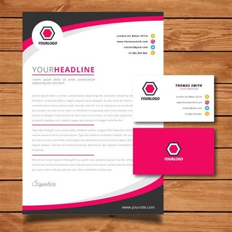 Business Letter Template Psd letter vectors photos and psd files free
