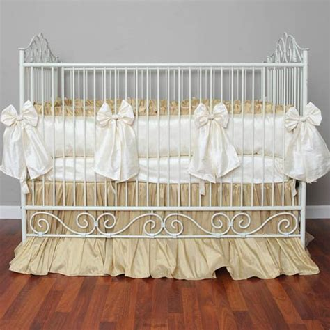 Silk Crib Bedding Baby Furniture Bedding Silk Crib Bedding