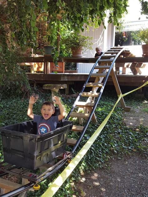 diy backyard roller coaster 447 best images about child s play on pinterest