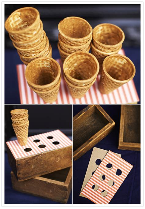 ice cream cone holder diy ice cream cone holders for your wedding diy projects