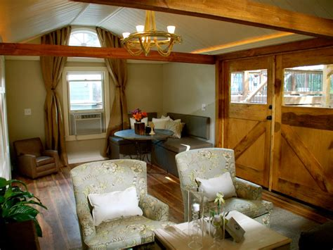 diy network converts   attic  shed  living