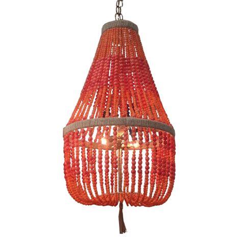 ro sham beaux lighting ro sham beaux malibu coral beaded chandelier beaded
