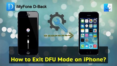 exit dfu mode  iphone youtube