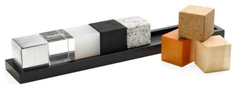 Modern Desk Set Architect S Cubes Set Of 8 Modern Desk Accessories By 2shopper Inc