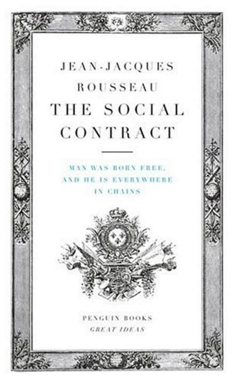 The Social Contract rousseau social contract book i autos post
