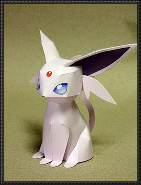 Glaceon Papercraft - glaceon ver 5 free papercraft