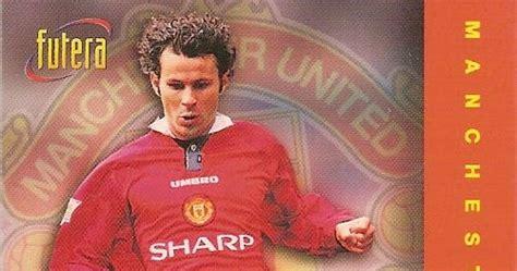Gary Neville Mu Futera 1997 football cartophilic info exchange futera manchester united f c 1997 04 checklist