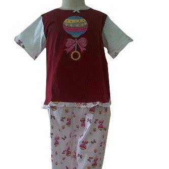 Piyama Baju Tidur Anak Katun Cotton Model Toast 1 kios kaos