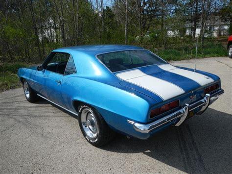 1969 camaro z28 blue 1969 z28 camaro lemans blue original unrestored page 2