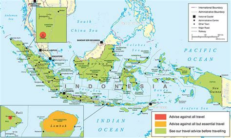 bali earthquake latest foreign office travel advice