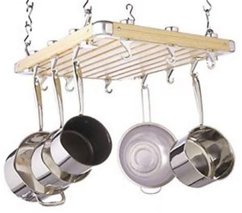 Ceiling Mounted Hanging Pot Rack Hanging Pot Rack Pan Deluxe Ceiling Mounted Wood Kitchen