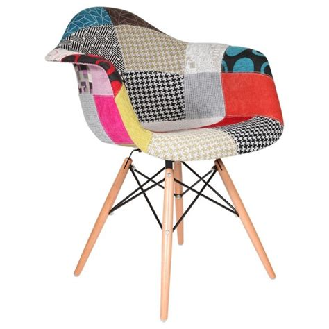 chaise eames patchwork chaise patchwork eames