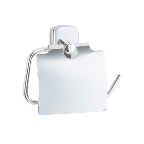 Smedbo Bathroom Accessories Cabin Toilet Roll Holder With Cover Ck3414 Polished Chrome