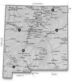 map pecos maps of new mexico and maps of pecos area