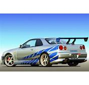 """1999 Nissan Skyline GT R From """"2 Fast 2 Furious"""" Sold For"""