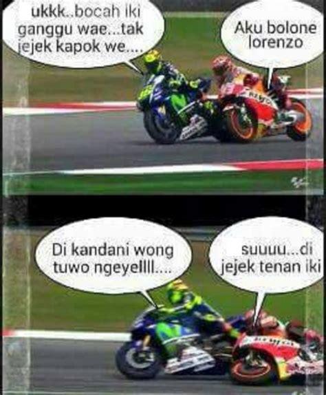meme lucu valentino vs marquez motogp dp bbm terbaru