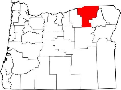 map of umatilla oregon file map of oregon highlighting umatilla county svg