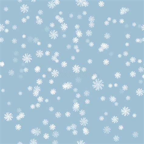 snow pattern brush winter snow brush seamless pattern stock vector