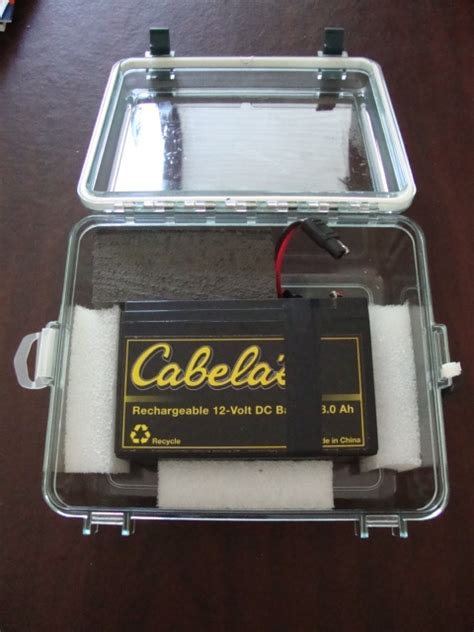 boat battery finder fishfinder battery and waterproof box general buy sell