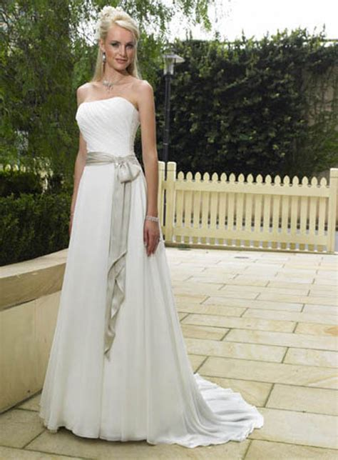 Simple Drees of dress clothes fashion simple wedding dress