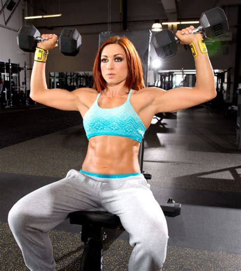 becky lynch wwe becky lynch trains at the wwe performance center