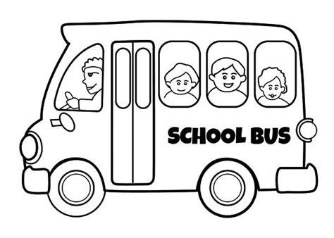 bus driver drive bus safely coloring pages place color