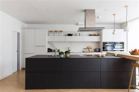 black island kitchen 31 black kitchen ideas for the bold modern home