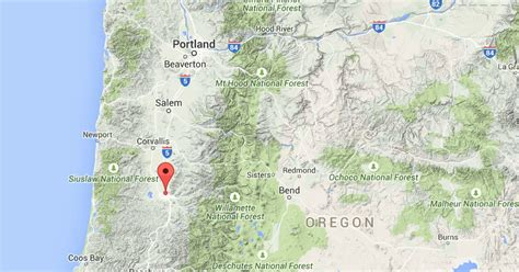 earthquake oregon sciency thoughts magnitude 3 4 earthquake in lane county