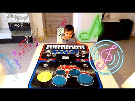 tappeto musicale per bambini 2 in 1 piano and drum playmat picasso tiles
