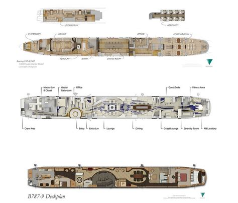 private jet floor plans this 747 private jet is a palace in the sky architecture